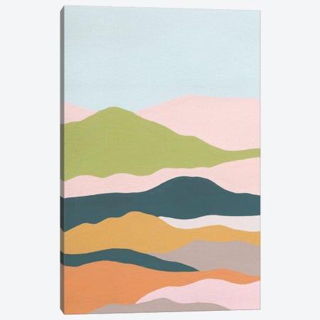 Cloud Layers I Canvas Print #WNG834} by Melissa Wang Canvas Wall Art