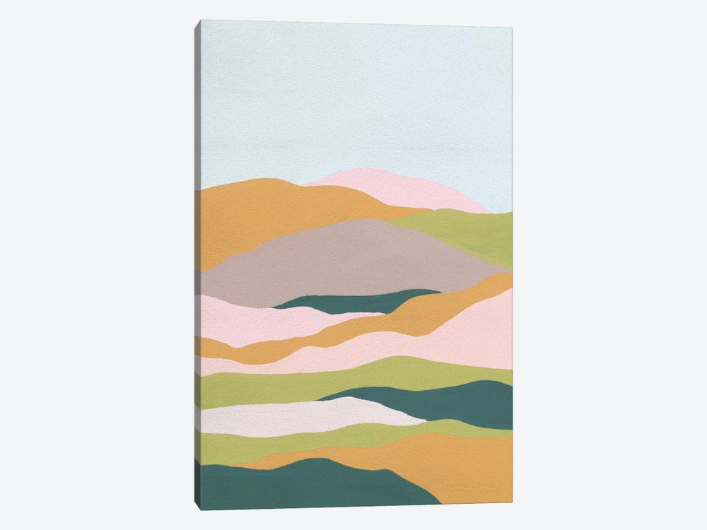 Cloud Layers II by Melissa Wang 1-piece Canvas Artwork