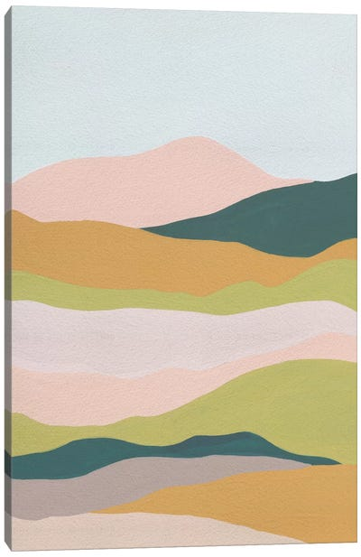 Cloud Layers IV Canvas Art Print