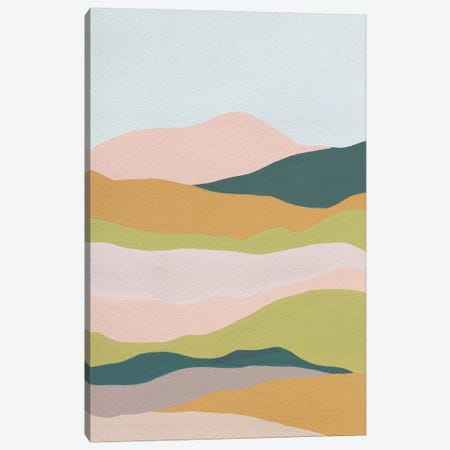 Cloud Layers IV Canvas Print #WNG837} by Melissa Wang Canvas Art