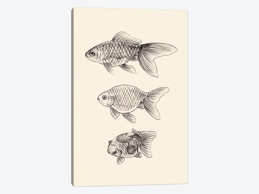 Goldfish IV by Melissa Wang 1-piece Art Print