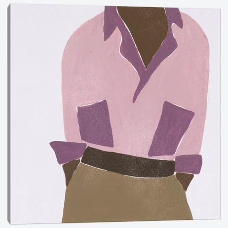 Herself IV Canvas Print #WNG872} by Melissa Wang Art Print