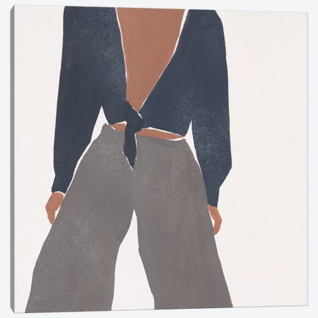 Herself IX Canvas Print #WNG873} by Melissa Wang Art Print