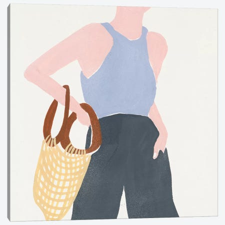 Herself VIII Canvas Print #WNG877} by Melissa Wang Canvas Artwork