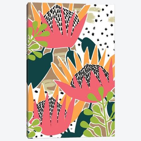King Protea II Canvas Print #WNG886} by Melissa Wang Canvas Print