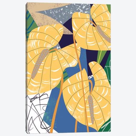 Laceleaf Wind I Canvas Print #WNG887} by Melissa Wang Canvas Print