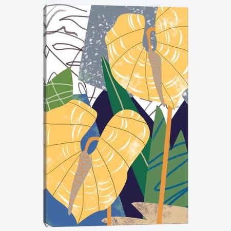 Laceleaf Wind II Canvas Print #WNG888} by Melissa Wang Canvas Wall Art