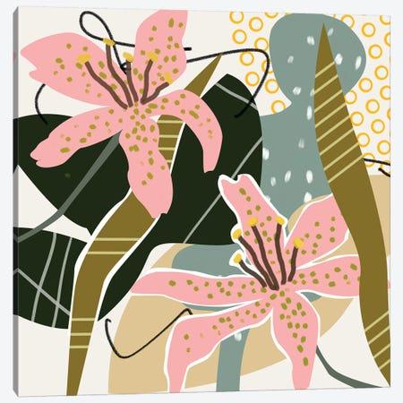 Lily Valley I Canvas Print #WNG891} by Melissa Wang Canvas Print