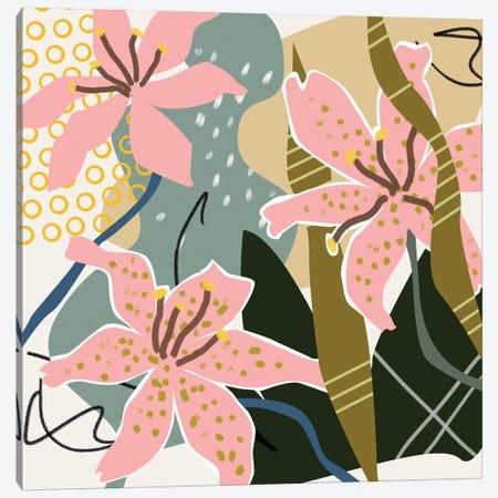 Lily Valley II Canvas Print #WNG892} by Melissa Wang Art Print