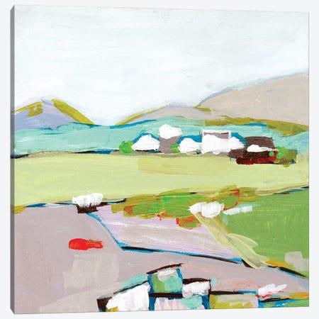 Mountain Village I Canvas Print #WNG903} by Melissa Wang Canvas Print