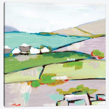 Mountain Village II Canvas Print #WNG904} by Melissa Wang Canvas Wall Art