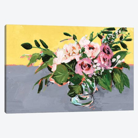 Natural Bouquet I Canvas Print #WNG905} by Melissa Wang Canvas Artwork
