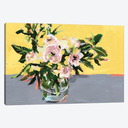 Natural Bouquet II Canvas Print #WNG906} by Melissa Wang Canvas Wall Art
