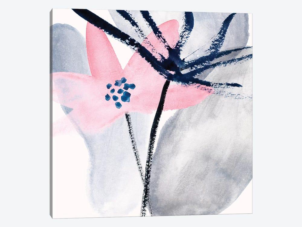 Pink Water Lilies II by Melissa Wang 1-piece Canvas Art