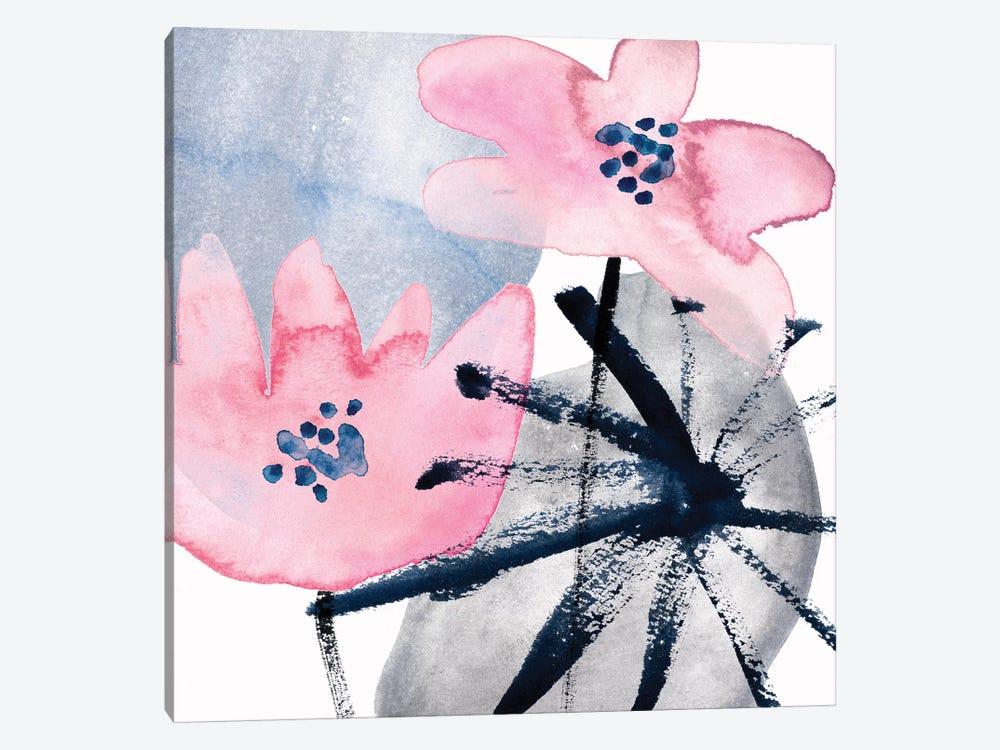 Pink Water Lilies III by Melissa Wang 1-piece Art Print