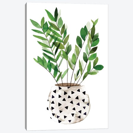 Plant in a Pot III Canvas Print #WNG921} by Melissa Wang Canvas Art Print