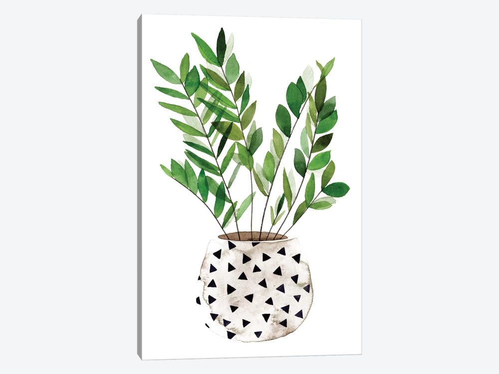 Plant in a Pot III by Melissa Wang 1-piece Canvas Wall Art