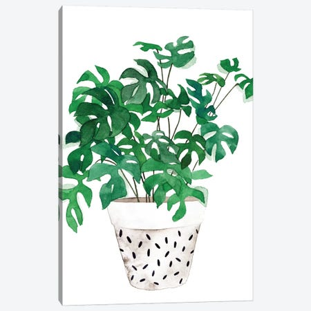 Plant in a Pot IV Canvas Print #WNG922} by Melissa Wang Canvas Art Print