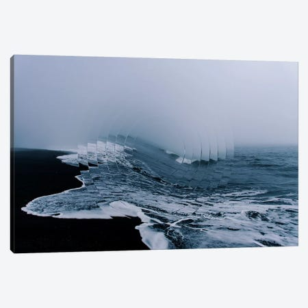 Sea Wave I Canvas Print #WNG92} by Melissa Wang Canvas Artwork