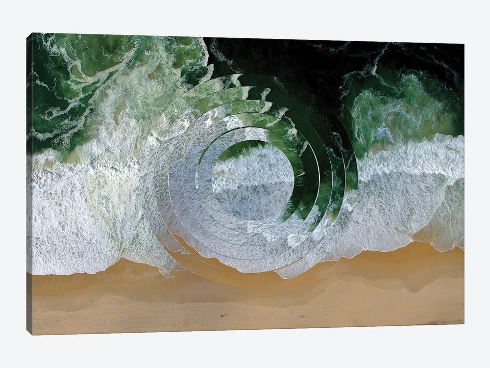 Sea Wave II by Melissa Wang 1-piece Canvas Artwork