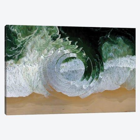Sea Wave II Canvas Print #WNG93} by Melissa Wang Canvas Wall Art