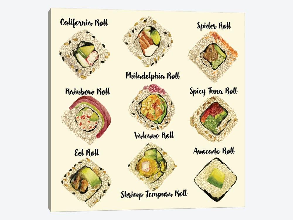 Sushi II by Melissa Wang 1-piece Canvas Art