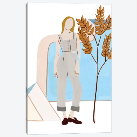 Women in the Garden VI Canvas Print #WNG963} by Melissa Wang Canvas Print
