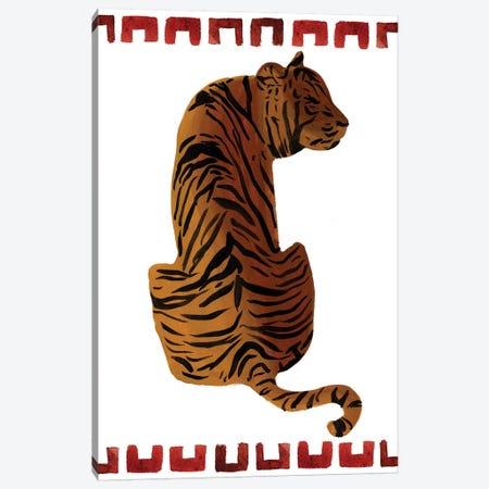 Asian Tiger II Canvas Print #WNG969} by Melissa Wang Canvas Print
