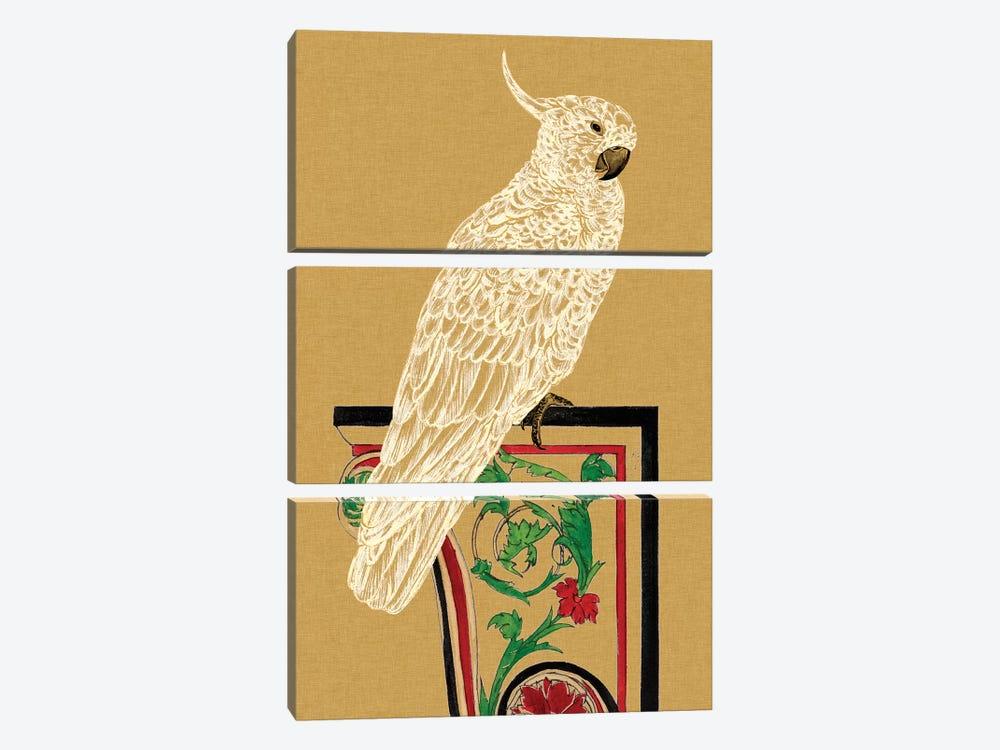 Bird Impression III by Melissa Wang 3-piece Canvas Wall Art