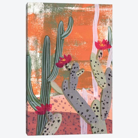 Desert Flowers I Canvas Print #WNG976} by Melissa Wang Canvas Art Print