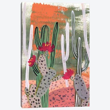 Desert Flowers IV Canvas Print #WNG979} by Melissa Wang Canvas Wall Art