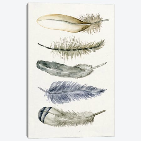 Tribal Feather II Canvas Print #WNG97} by Melissa Wang Canvas Print