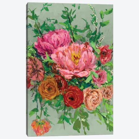 Vintage Bouquet I Canvas Print #WNG98} by Melissa Wang Canvas Wall Art