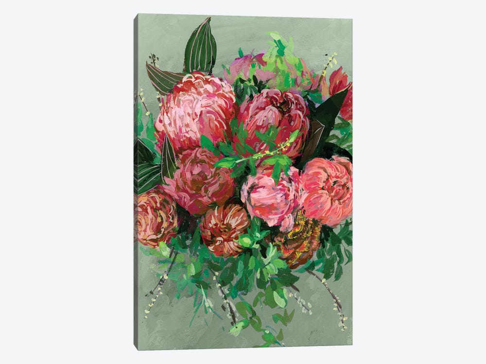 Vintage Bouquet II by Melissa Wang 1-piece Canvas Art