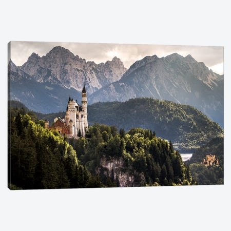 The Two Castles Canvas Print #WON1} by Andreas Wonisch Canvas Art