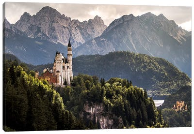 The Two Castles Canvas Art Print