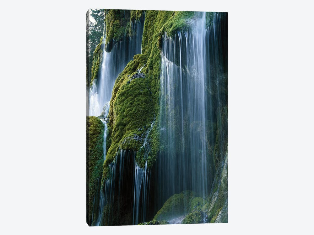 Waterfall, Bavaria, Germany by Konrad Wothe 1-piece Canvas Print