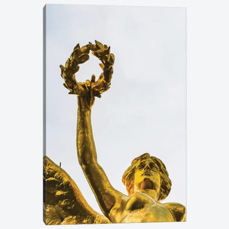 The Angel Of Independence, Mexico City, Mexico. Built In 1910 Celebrating It'S Independence Of 1821. Canvas Print #WPE36} by William Perry Canvas Print