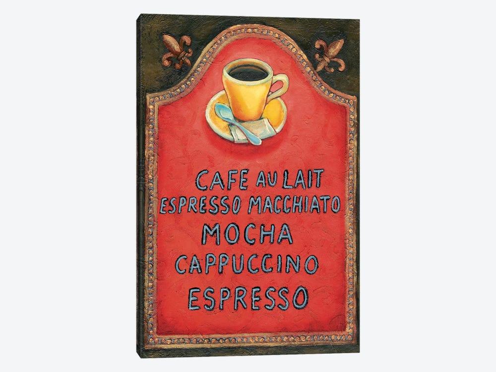 Café by Will Rafuse 1-piece Art Print