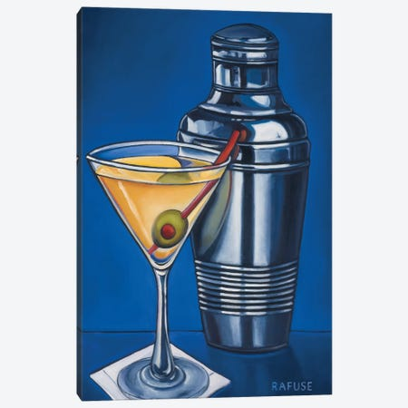 Martini Canvas Print #WRA7} by Will Rafuse Art Print