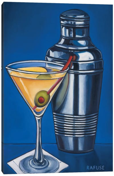 Martini Canvas Art Print