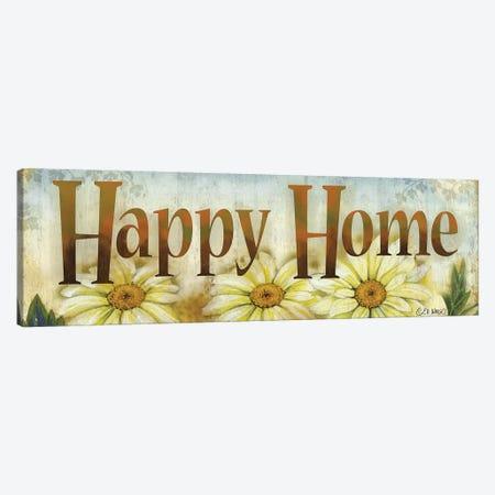 Happy Home Canvas Print #WRG10} by Ed Wargo Canvas Art Print