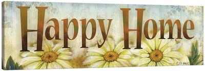 Happy Home Canvas Art Print