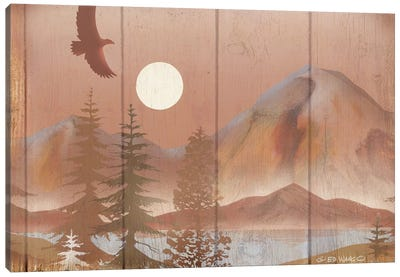 Full Moon I Canvas Art Print