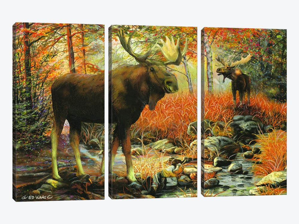 Call of the Wild by Ed Wargo 3-piece Art Print