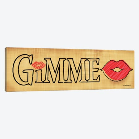 Gimme Kiss 3-Piece Canvas #WRG20} by Ed Wargo Canvas Wall Art