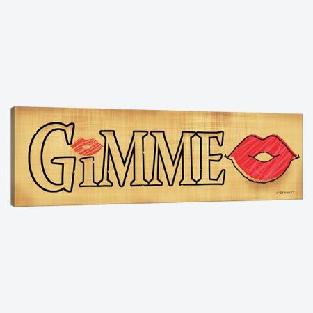 Gimme Kiss Canvas Print #WRG20} by Ed Wargo Canvas Wall Art