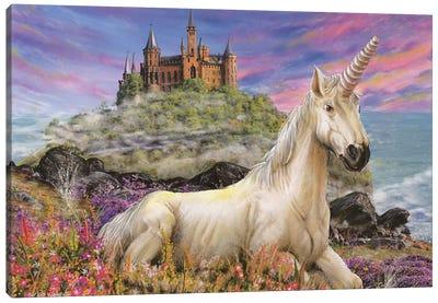 Royal Unicorn Canvas Art Print