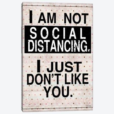 Social Distancing Canvas Print #WRG26} by Ed Wargo Art Print