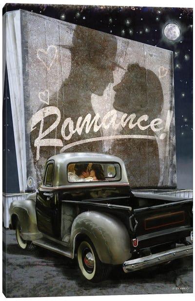 Old Fashioned Romance Canvas Art Print